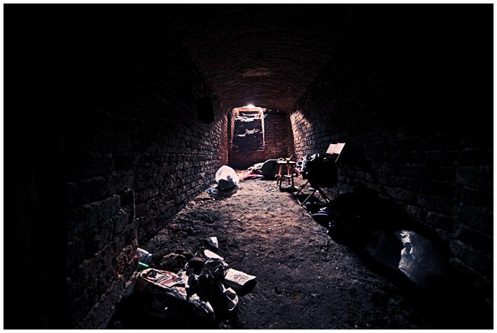 Żelazna 65 - w piwnicach