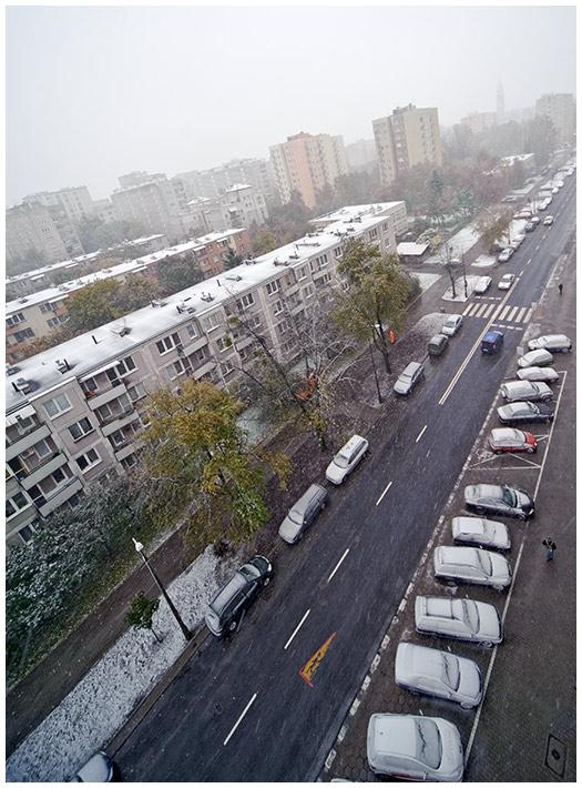 Zima w mieście 14.10.2009