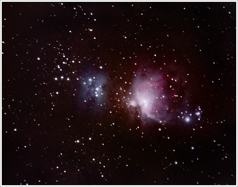 Wielka Mgławica Oriona M42