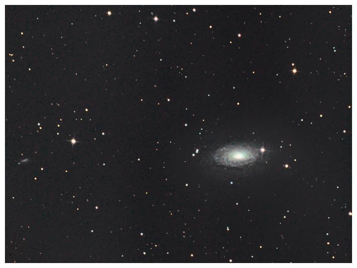Galaktyka Słonecznik M63 Astrofotografia