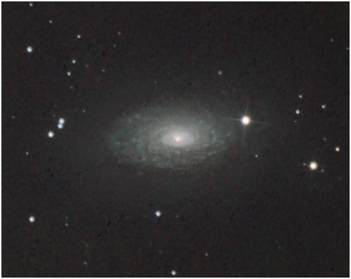 M63 Słonecznik Galaktyka fotografia