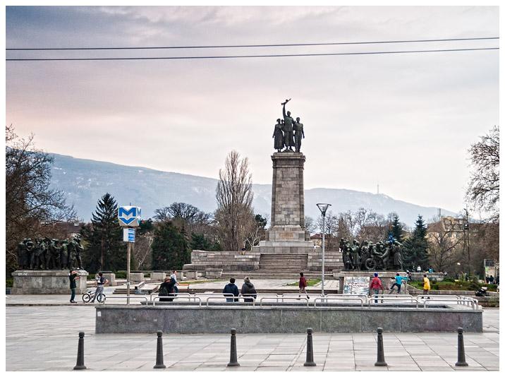 Pomnik Armii Czerwonej - Sofia fotografia