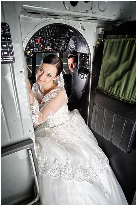 Dorota i Kamil w Mi-8 - fotografia ślubna, plener