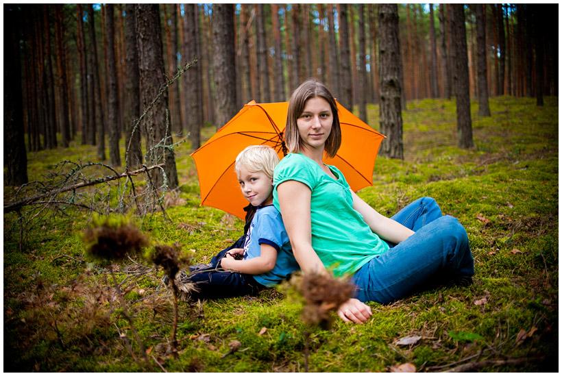 Fotografia rodzinna - Wojtek i Karolina