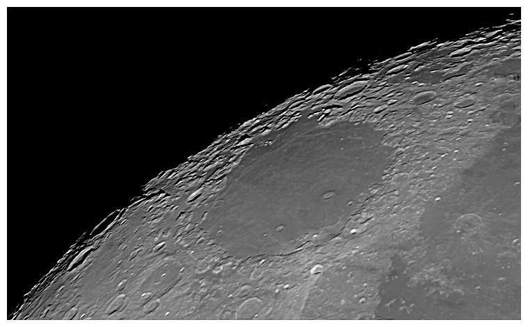 Astro-fotografia: Księżyc - Morze Przesileń